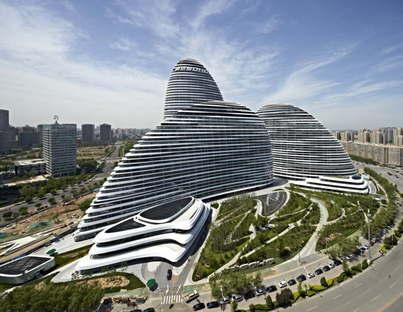 Zaha Hadid Architects Wangjing SOHO (c) CCDI