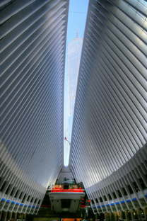 Calatrava The Oculus World Trade Center Transportation Hub