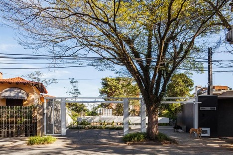 FGMF Architects Casa con patio a San Paolo Marquise House