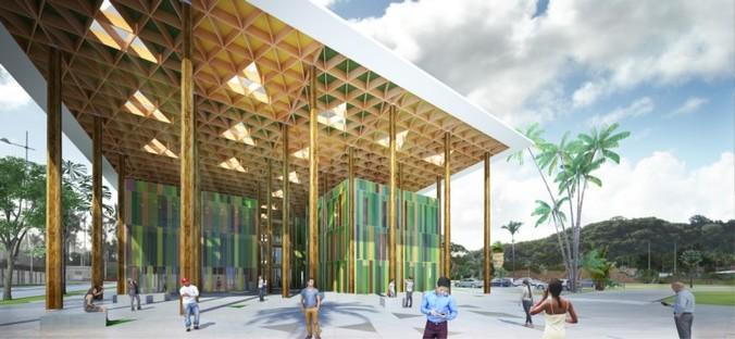 Cardete Huet Centro Amministrativo Campus Universitario Cayenne
