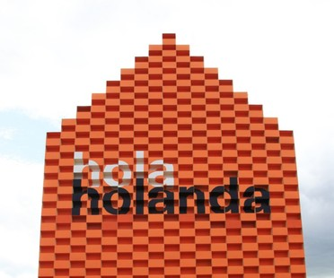 MVRDV Hola Holanda padiglione FILBO Bogotá 2016