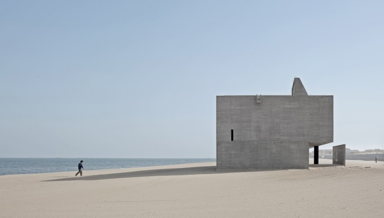 Vector Architects Seashore Library biblioteca sull'oceano