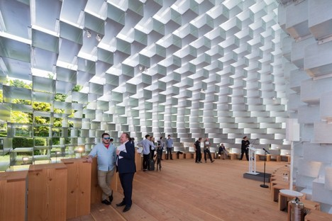 BIG Serpentine Pavilion image by Iwan Baan