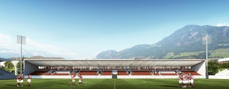 gmp ampliamento stadio Druso Bolzano