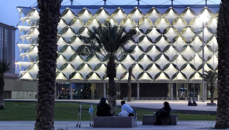 Gerber Architekten  King Fahad National Library Riyadh