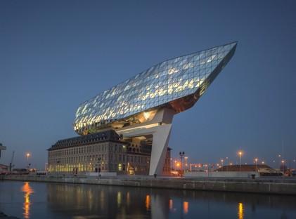 Zaha Hadid inaugurata Port House a Antwerp - Anversa