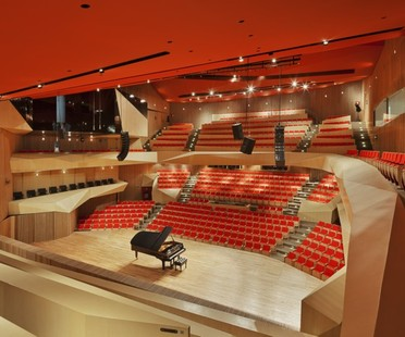 Roberto Cantoral Music Hall di Broissin Architects
