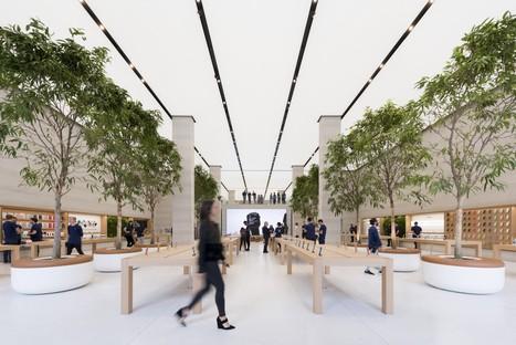 Foster + Partners Apple Flaghship Store Regent Street Londra