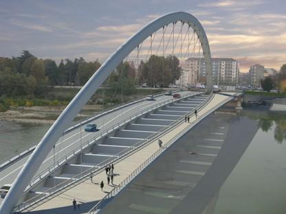 Inaugurato Ponte Cittadella Alessandria di Richard Meier