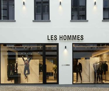 Piuarch Les Hommmes flagship store Anversa