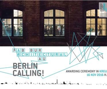 FAB Berlino ospita la premiazione di Next Landmark 2016