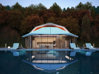 Shell House di Lenz Architects