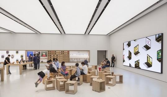 Bohlin Cywinski Jackson Apple Store in the World Trade Center Oculus