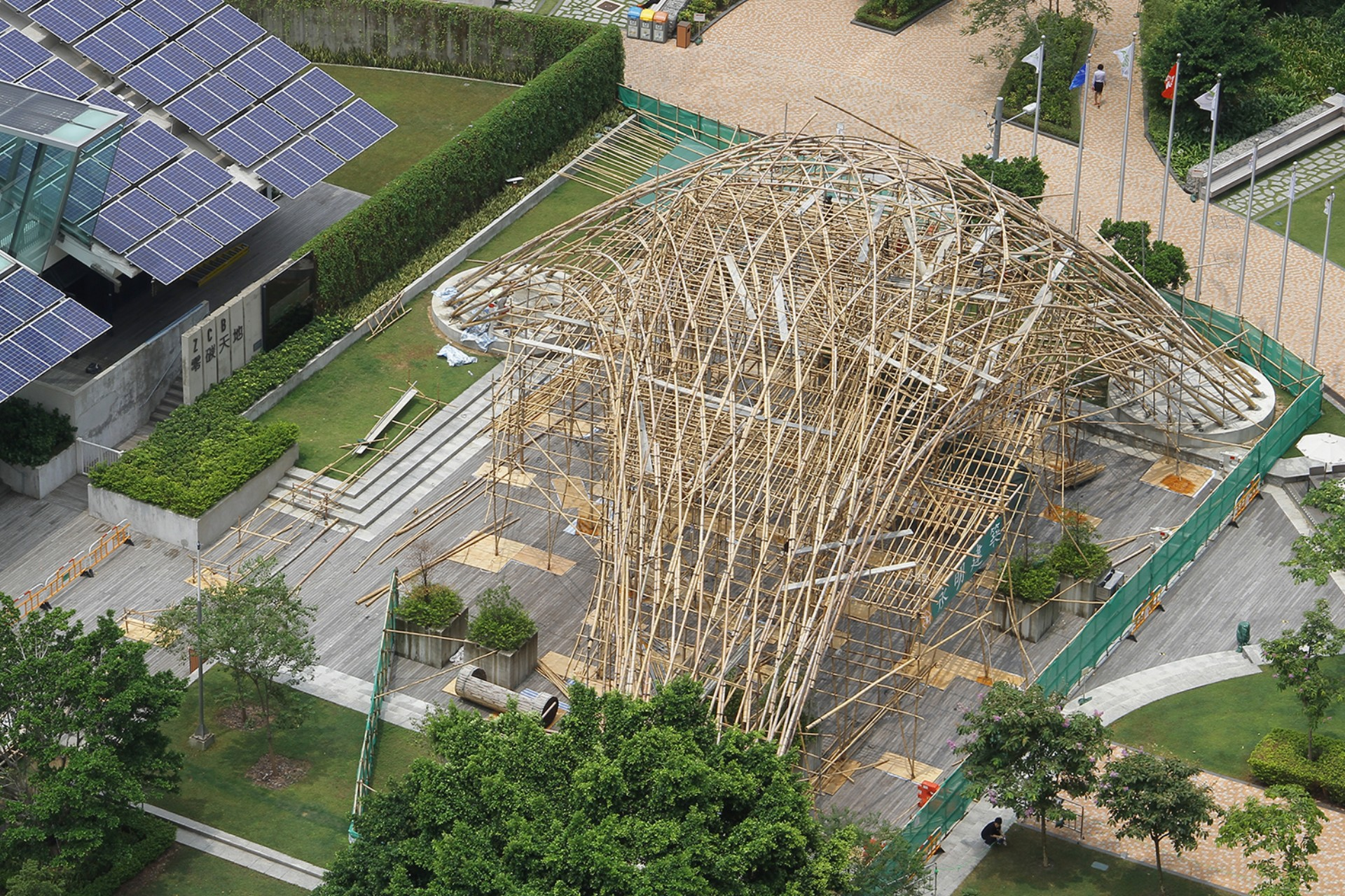 ZCB Bamboo Pavilion The Chinese University of Hong Kong