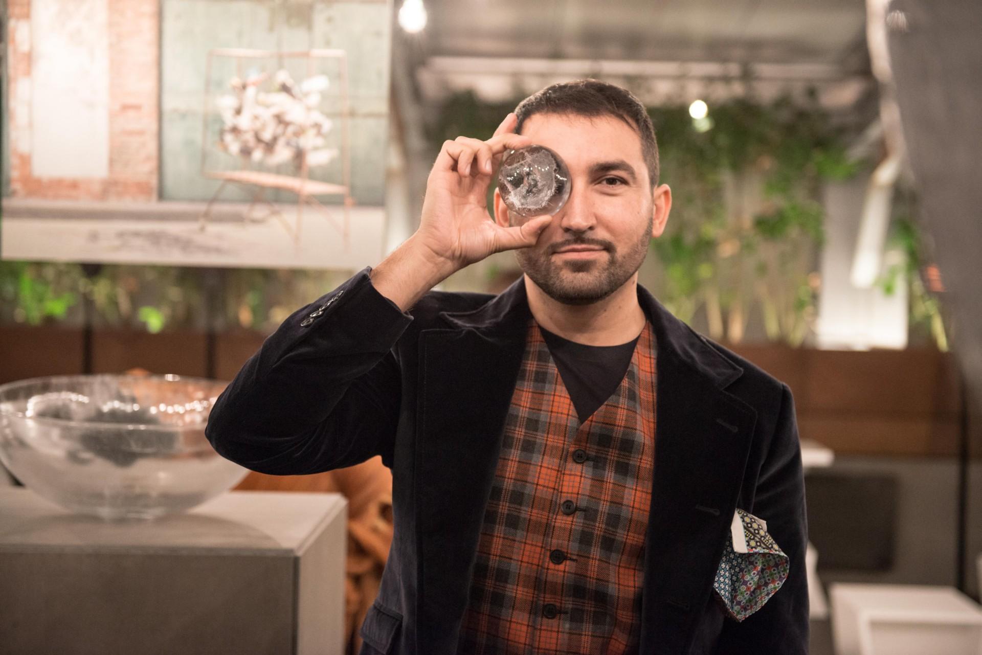Luca Gnizio Eco-social designer a FAB Milano