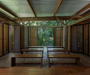 Apiacás Arquitetos Pavilion Una a Barra do Una Brasile