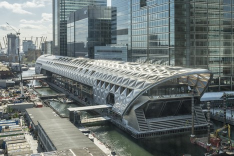 Foster + Partners Crossrail Place - Canary Wharf Londra