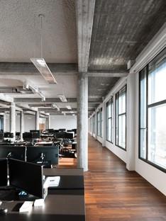 Nuova Sede De Bank di KAAN Architecten a Rotterdam
