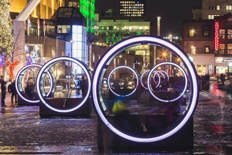 Luminothérapie Loop Ruote giganti e giochi di luce a Montréal