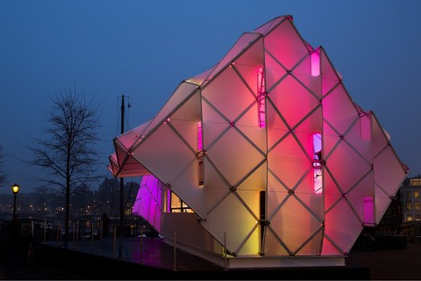 UNStudio Eye_Beacon, Amsterdam Light Festival