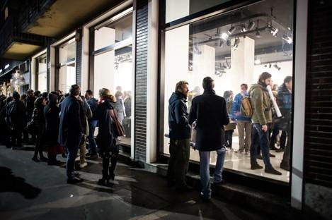 Inaugurazione Mostra Controcampo SpazioFMG Milano