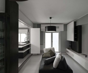 Appartamento Monteverde a Roma, firmato Noses Architects