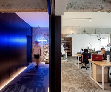 Blue Space Office di Bloom Design