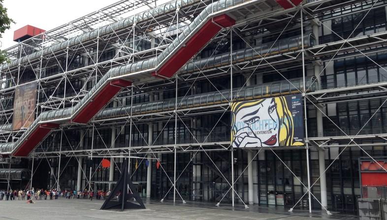 40 anni de Le Centre Pompidou di Parigi