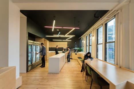 Snøhetta nuova sede e uffici Slack a New York