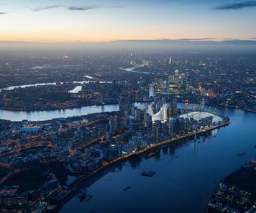 Santiago Calatrava trasforma la Penisola di Greenwich Londra