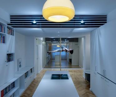 Coll Coll ha progettato Dancer's Pad, casa di un'avvocato danzante