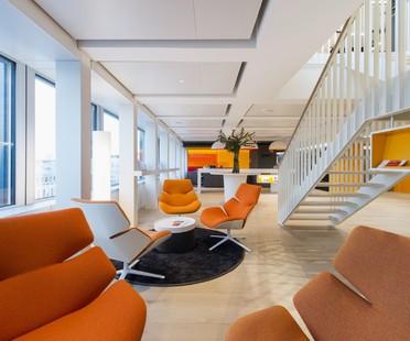 Gli uffici di PwC a Basilea sono dei centri benessere