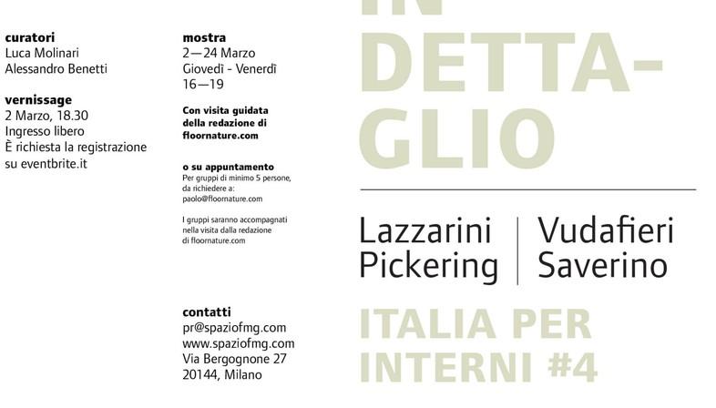 mostra Italia per Interni #4 SpazioFMG Lazzarini Pickering  Vudafieri Saverino