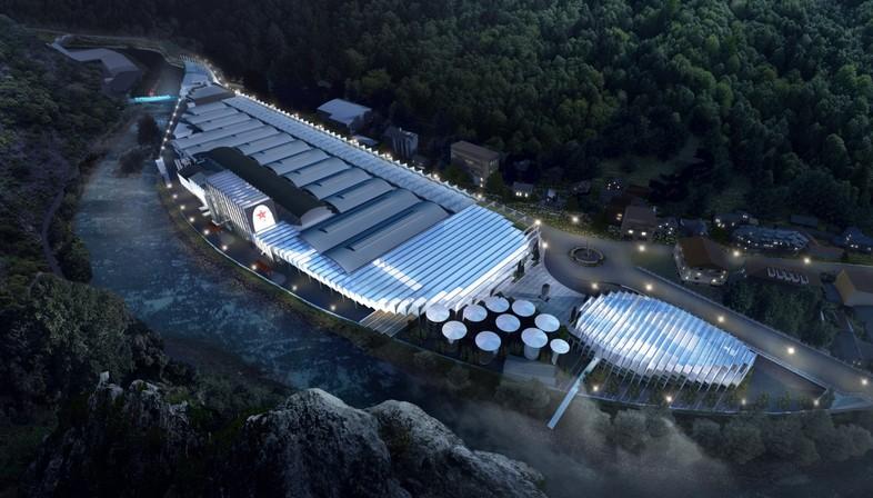 BIG – Bjarke Ingels Group firma S.Pellegrino Flagship Factory
