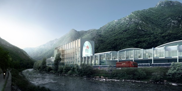 BIG – Bjarke Ingels Group firma S.Pellegrino Flagship Factory