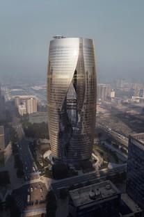 Zaha Hadid Architects Grattacielo Leeza SOHO Pechino