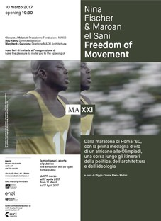 Maxxi installazione  Nina Fischer & Maroan el Sani FREEDOM OF MOVEMENT