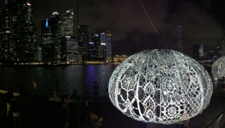 Choi + Shine The Urchins Marina Bay Singapore