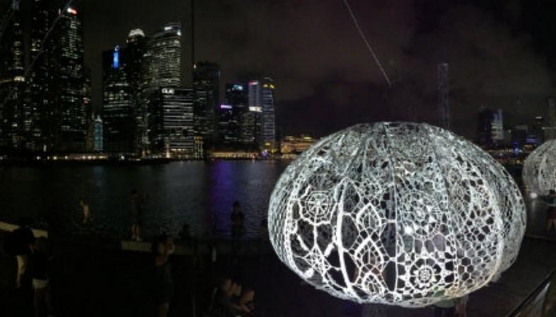 Choi + Shine The Urchins Marina Bay Singapore
