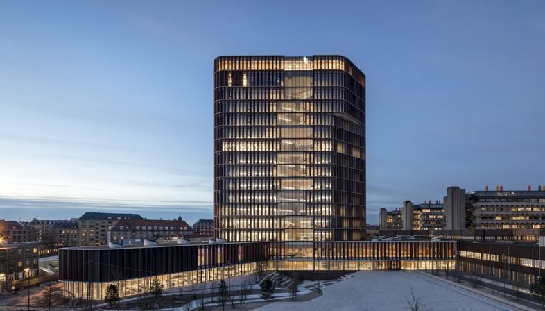 C.F. Møller Architects Maersk Tower edificio iconico a Copenhagen