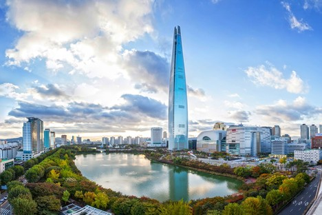 Il 5 grattacielo più alto del mondo: Lotte World Tower Seoul