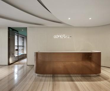 Il tempo è denaro! cnYes Office di Waterfrom Design