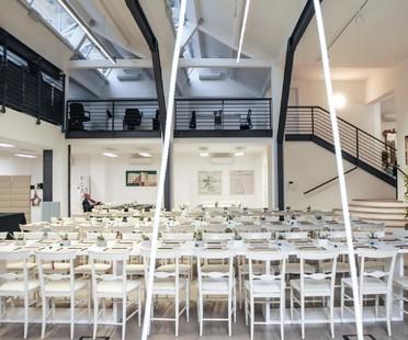 La Factory Valle 3.0 con Iris Ceramica apre le porte agli architetti europei