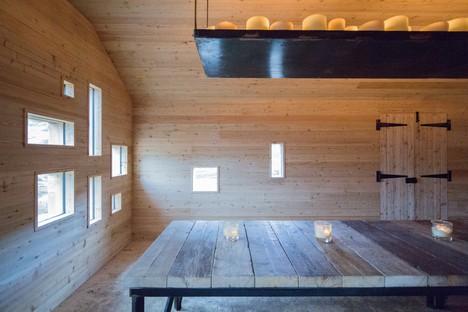 Moxon Architects una capanna moderna nelle Highlands scozzesi