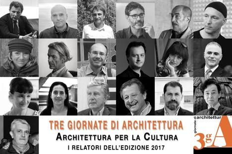 3gA – Tre Giornate di Architettura 2017 a Pistoia