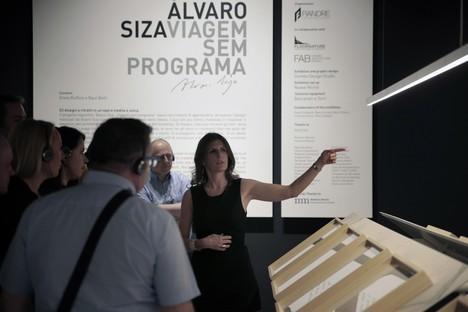 Visita alla mostra Alvaro Siza. Viagem Sem Programa al FAB Castellarano