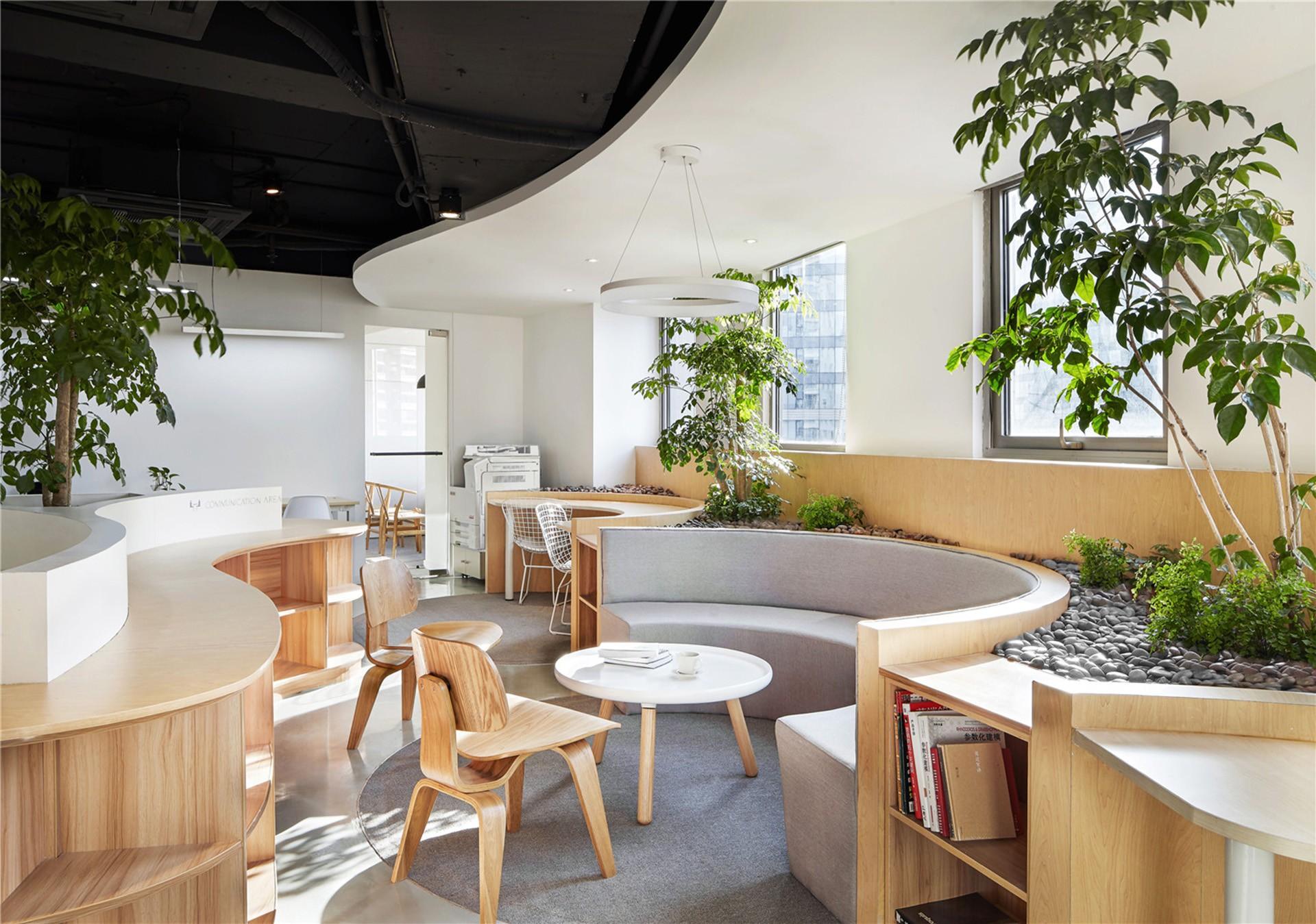 Ufficio Di Design : Viva la natura! un ufficio di muxin design and research floornature
