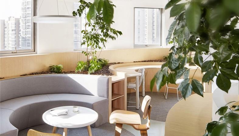 Ufficio Di Un Architetto : Viva la natura! un ufficio di muxin design and research floornature