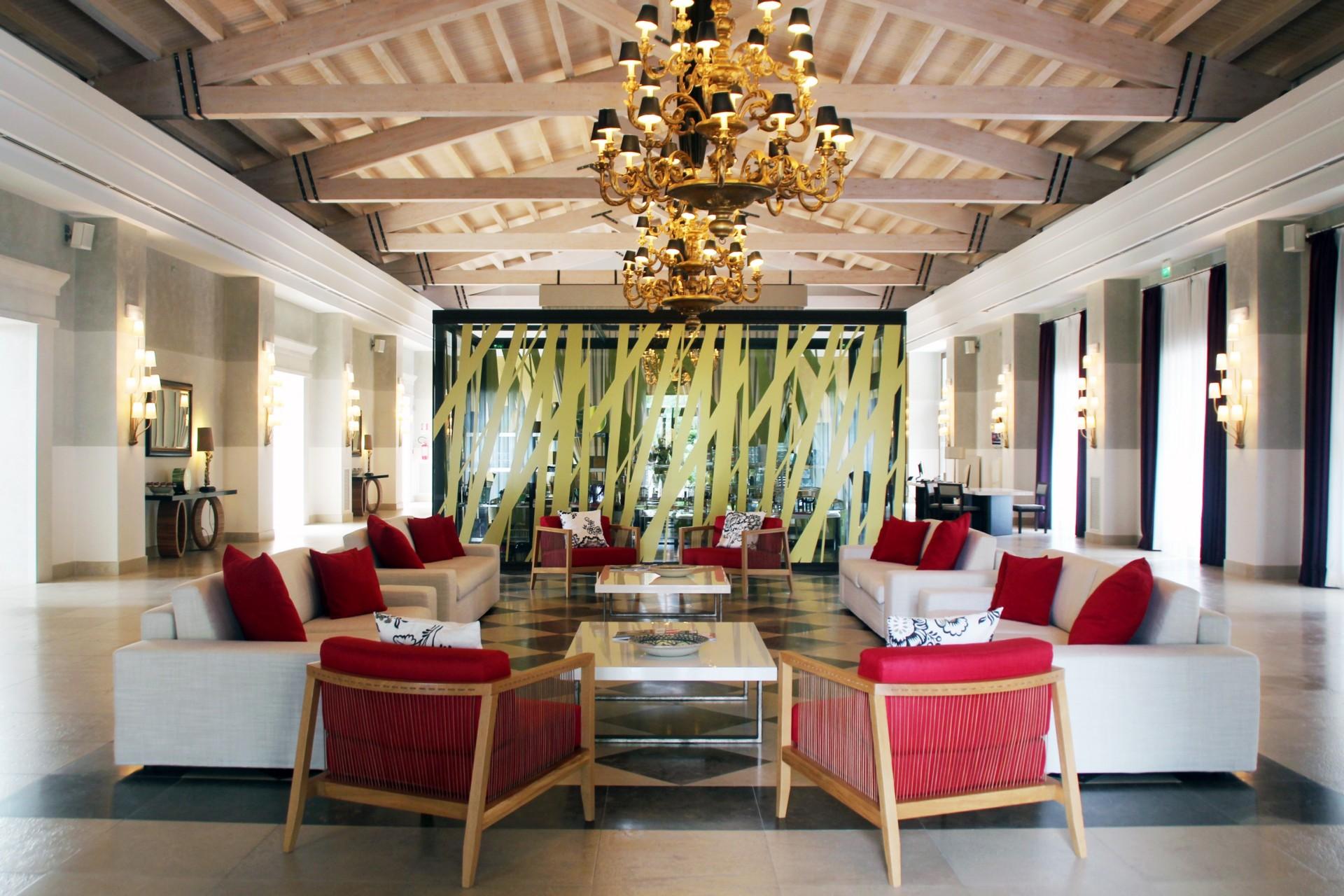 Marco Piva restyling interior Donnafugata Golf Resort & SPA Ragusa