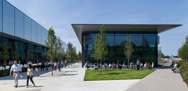 WilkinsonEyre Dyson Campus Expansion Malmesbury